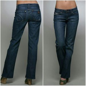 Joe's Jeans Wide Leg Provocateur Womens Jeans Blue